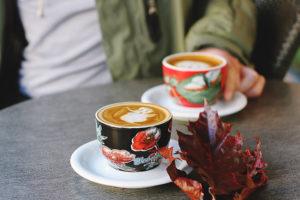 Twee koppies koffie